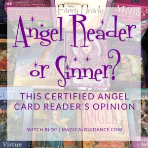 Article: Angel Card Reader or Sinner?