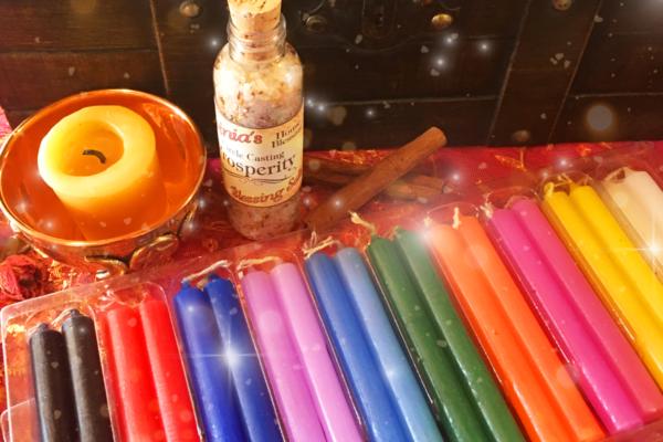 Ritual Color Correspondences