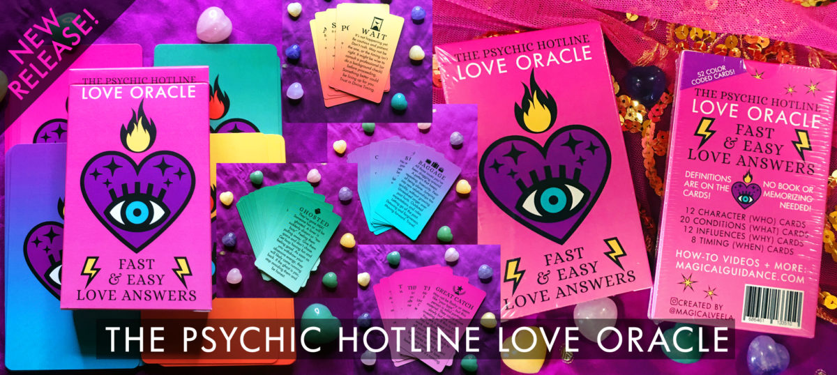 The Psychic Hotline Love Oracle Deck   magicalguidance.com