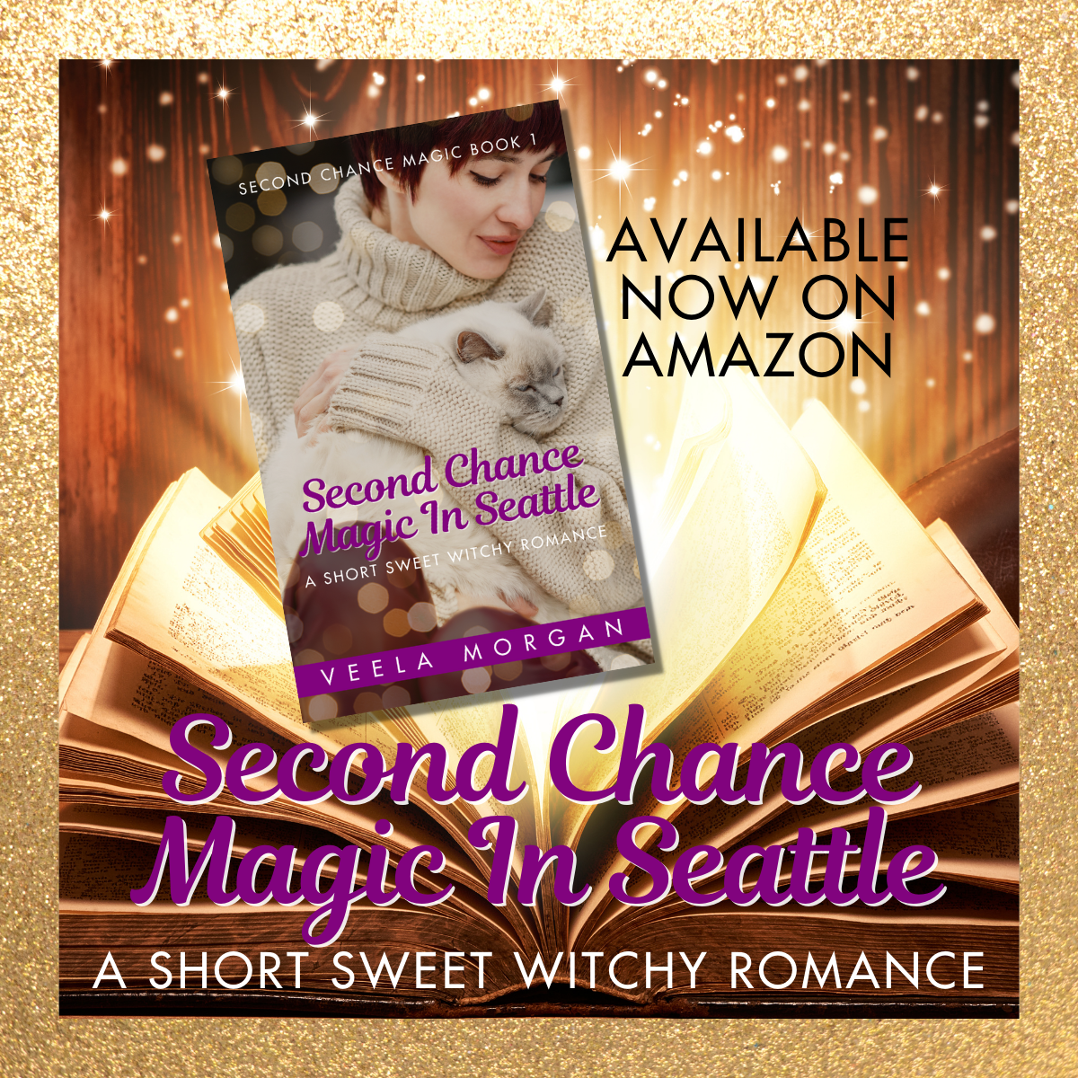 Second Chance Magic In Seattle A Witchy Romance by Veela Morgan