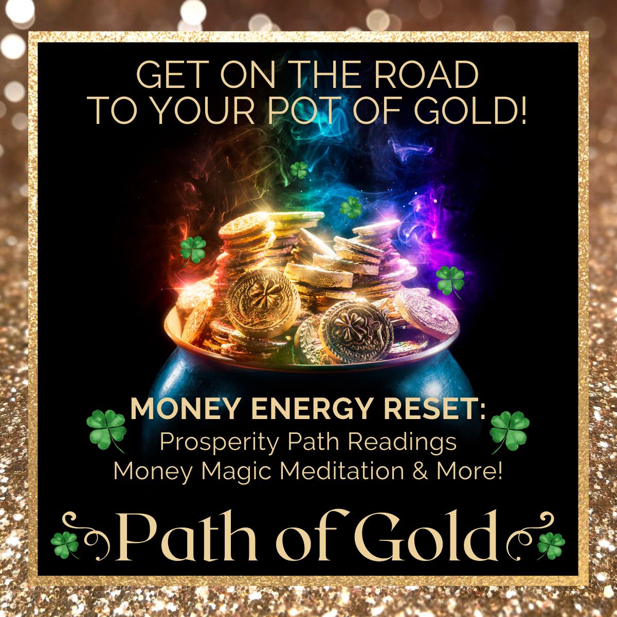 Path of Gold Money Prosperity Reading | magicalguidance.com/gold