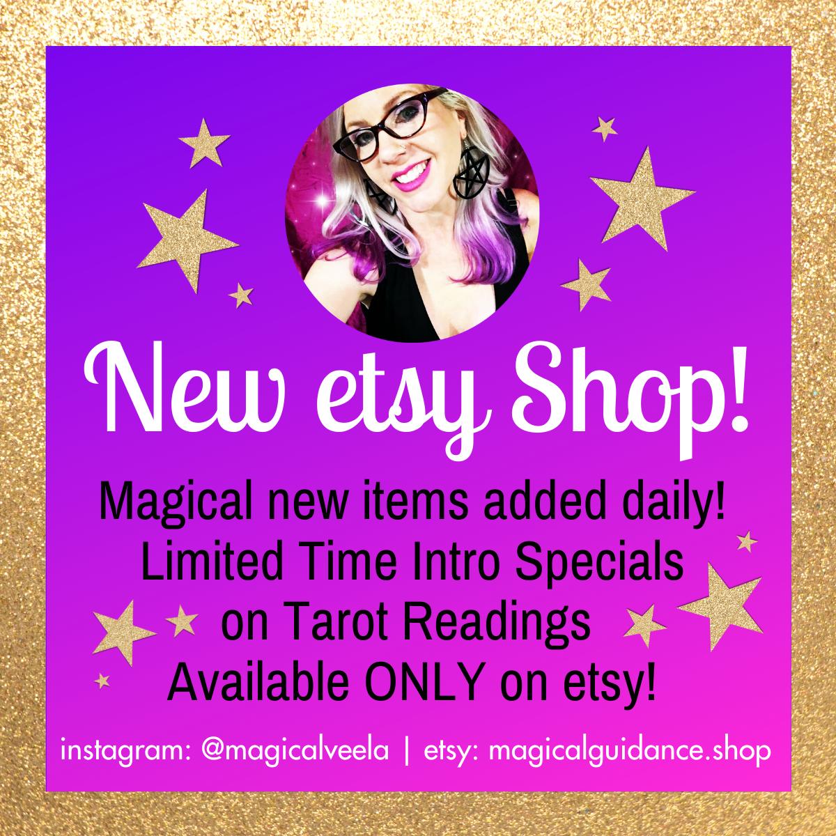 new etsy shop @ magicalguidance.shop